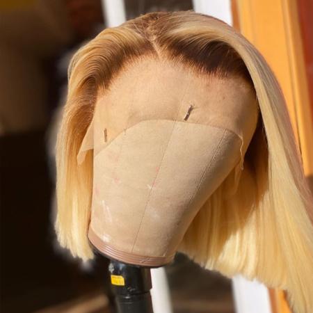 200% Density #30/613 BOB Lace Wigs