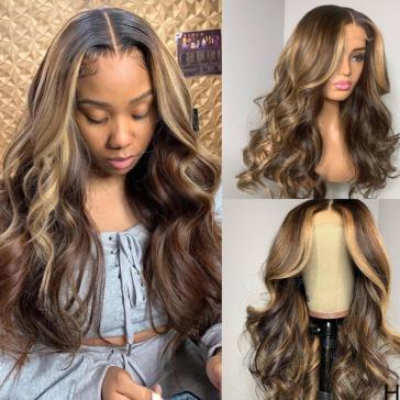 200% Density L3/27 Body Wave Lace Wigs
