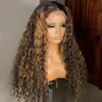 150% Density 4x4 L3/27 Curly Lace Wigs